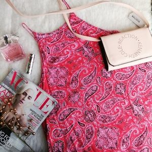 VANS printed mini dress in red Size S